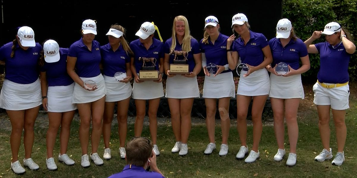 No. 4 LSU rolls to win in 2021 LSU Tiger Golf Classic