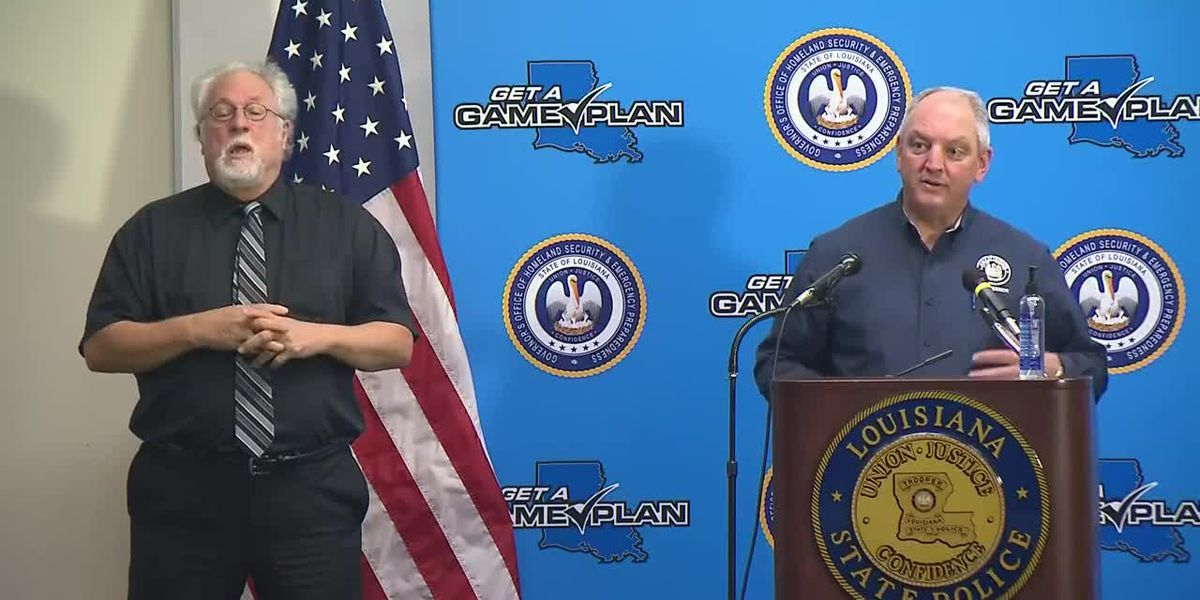 FULL VIDEO: Gov. Edwards holds news conference Tuesday, Sept. 8, 2020