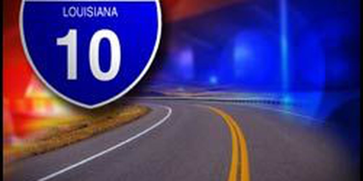 Accident causes congestion on I-10 East at Ramah