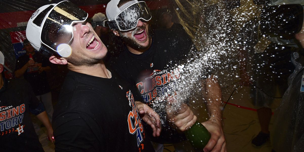 October orbit: Astros advance with 11-3 win, sweep Indians