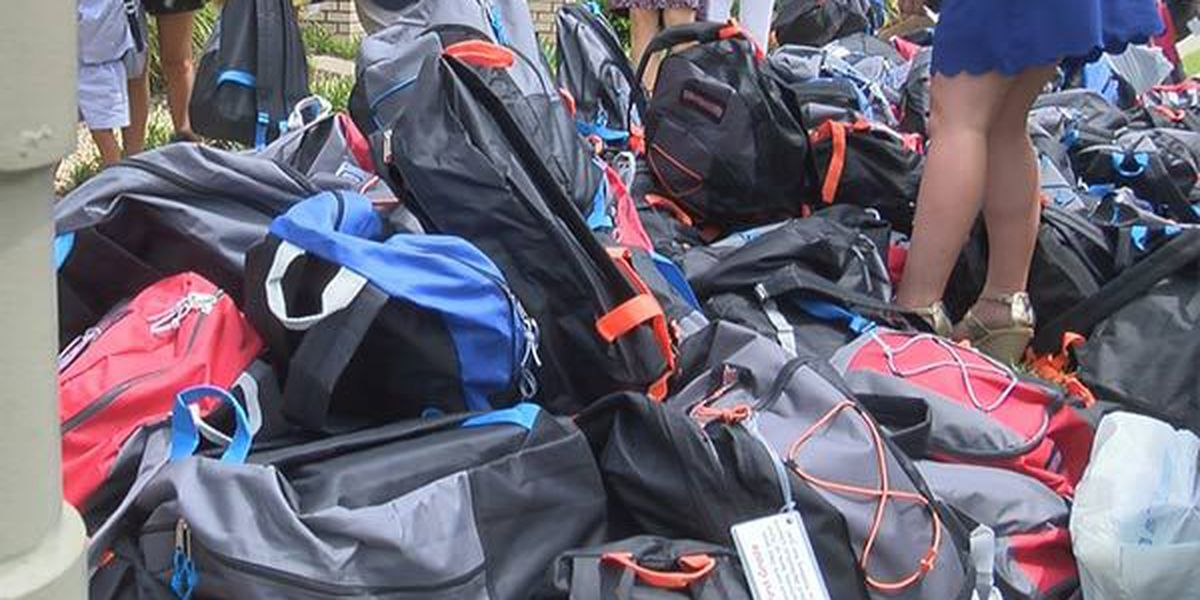 Baton Rouge church donates $25k in school supplies to two local schools