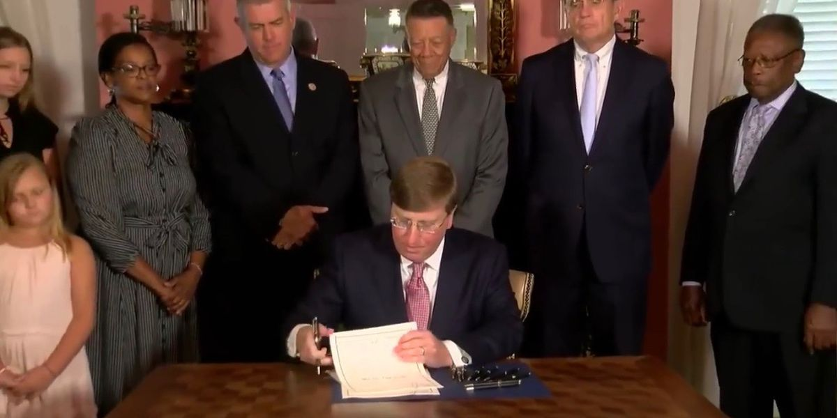History Made: Gov. Reeves signs bill officially changing state flag