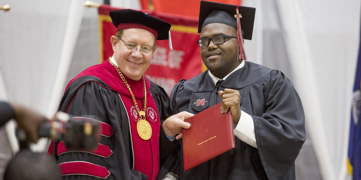 'Moonwalker Mike' overcomes incredible obstacles and graduates from Nicholls State