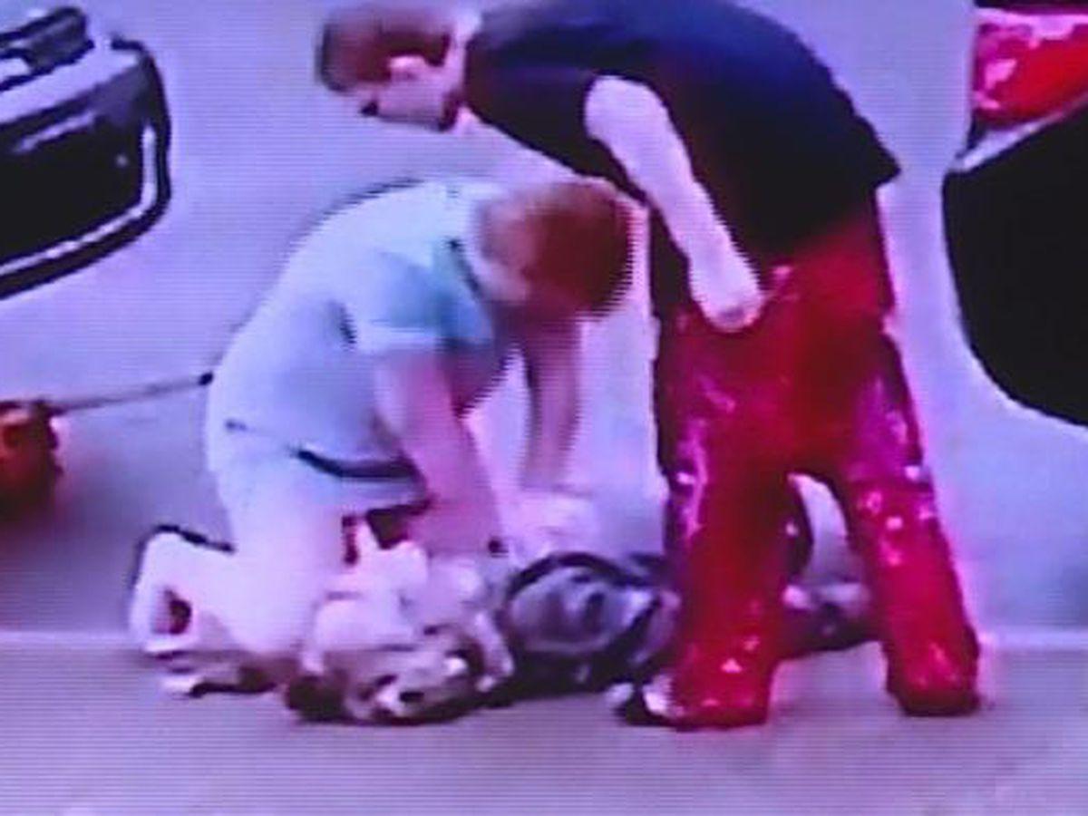 Kentucky man's heart attack, girlfriend's life-saving actions caught on camera