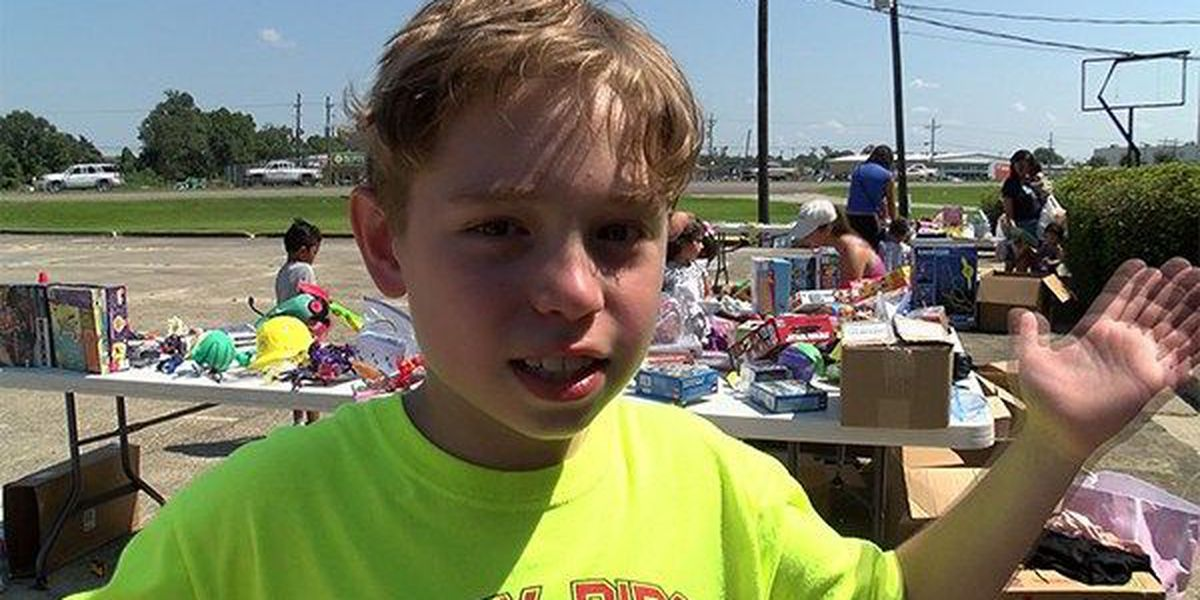 Alabama 5th grader with big heart donates toys to Baton Rouge flood victims