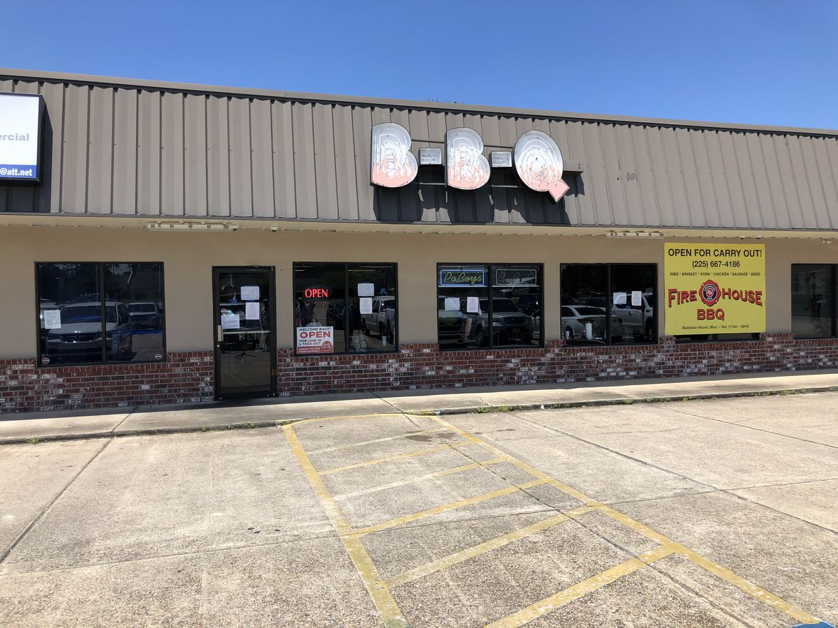 Firehouse BBQ in Watson reopens despite LDH revoking food permit for violating mask, social distancing mandates