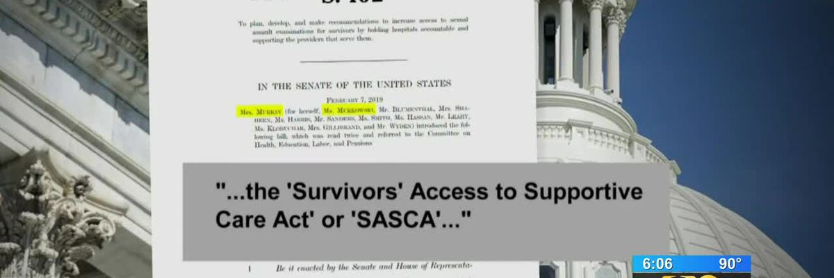 Proposed bill could help sexual assault survivors