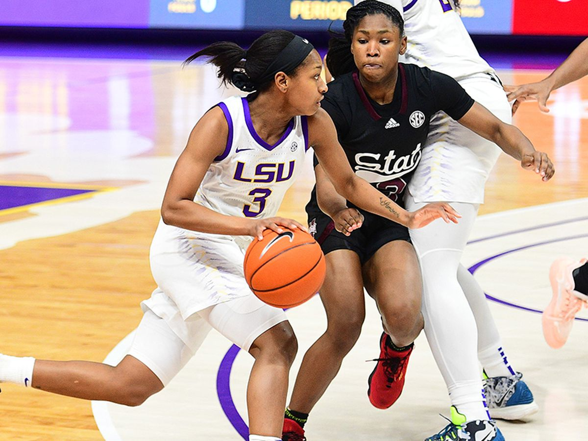 Lady Tigers fall to Miss. St., 68-59, in regular season finale