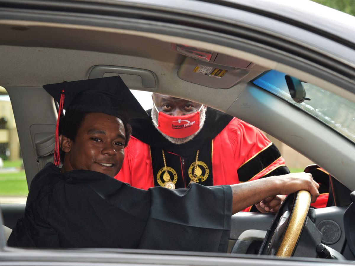 BRCC celebrate graduates with special drive-thru ceremony