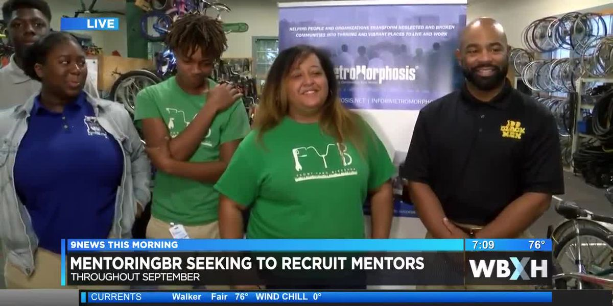 MentoringBR encourages adults to become mentors for youth - 7 a.m.