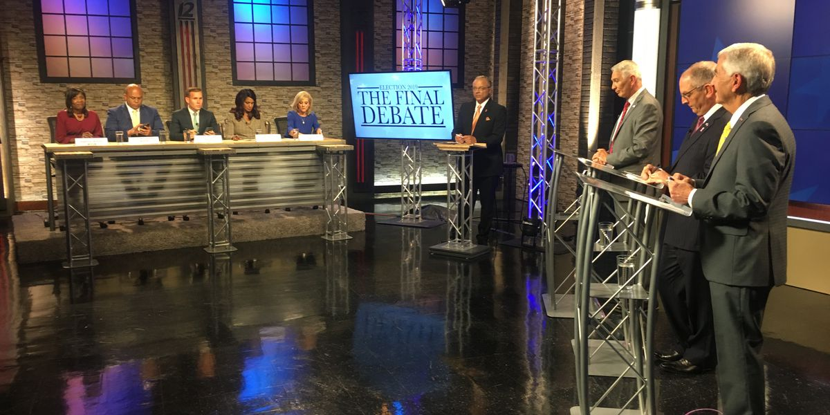 Candidates for La. governor face off in final debate