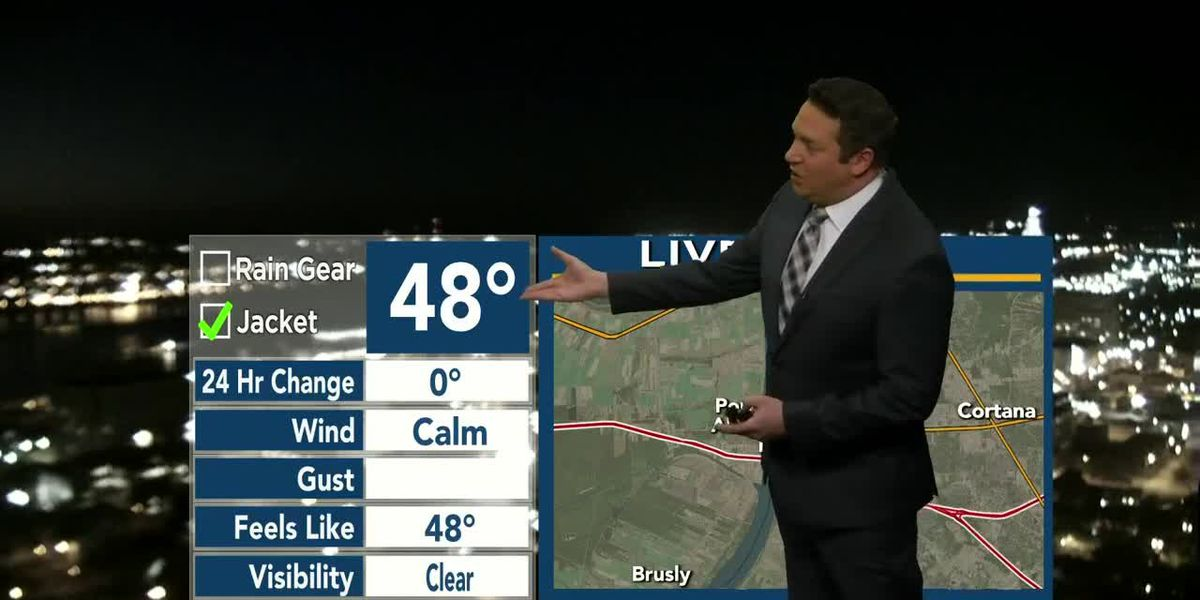 9News at 6:00 weather, Saturday, Jan. 16