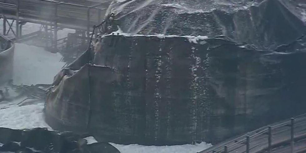 Residents fret about TX chemical plant fire, despite assurances