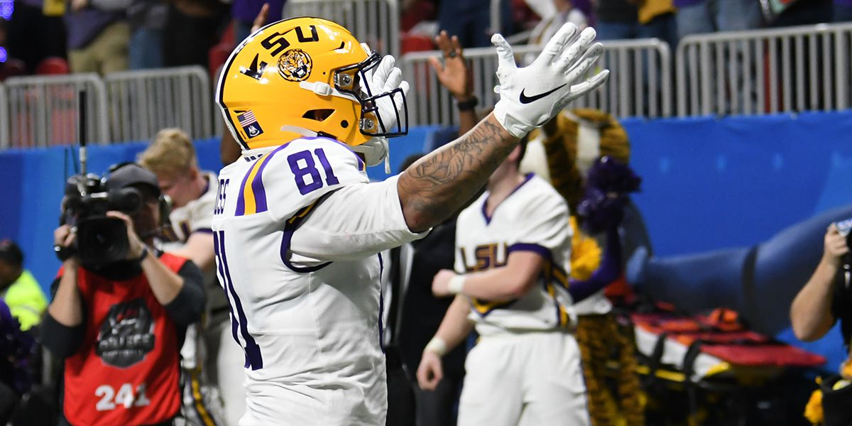 Former LSU TE acquired by the Bengals