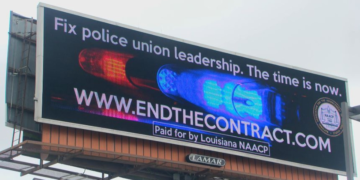 'Fix police union leadership.' NAACP calls for BR Union of Police contract to end; Union representative and Mayor respond