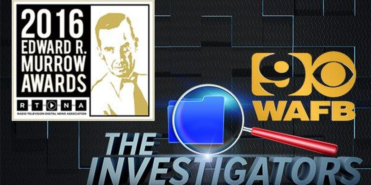 WAFB wins Murrow Award for Investigative Reporting