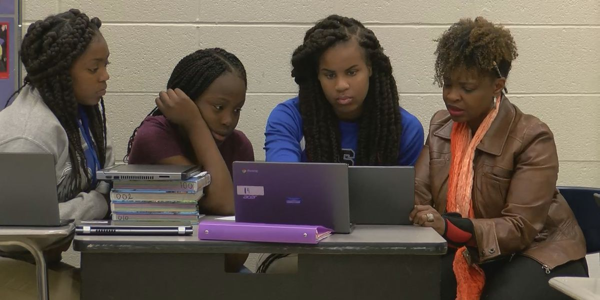 Scotlandville Pre-Engineering Magnet School teachers surprised with new Chromebooks