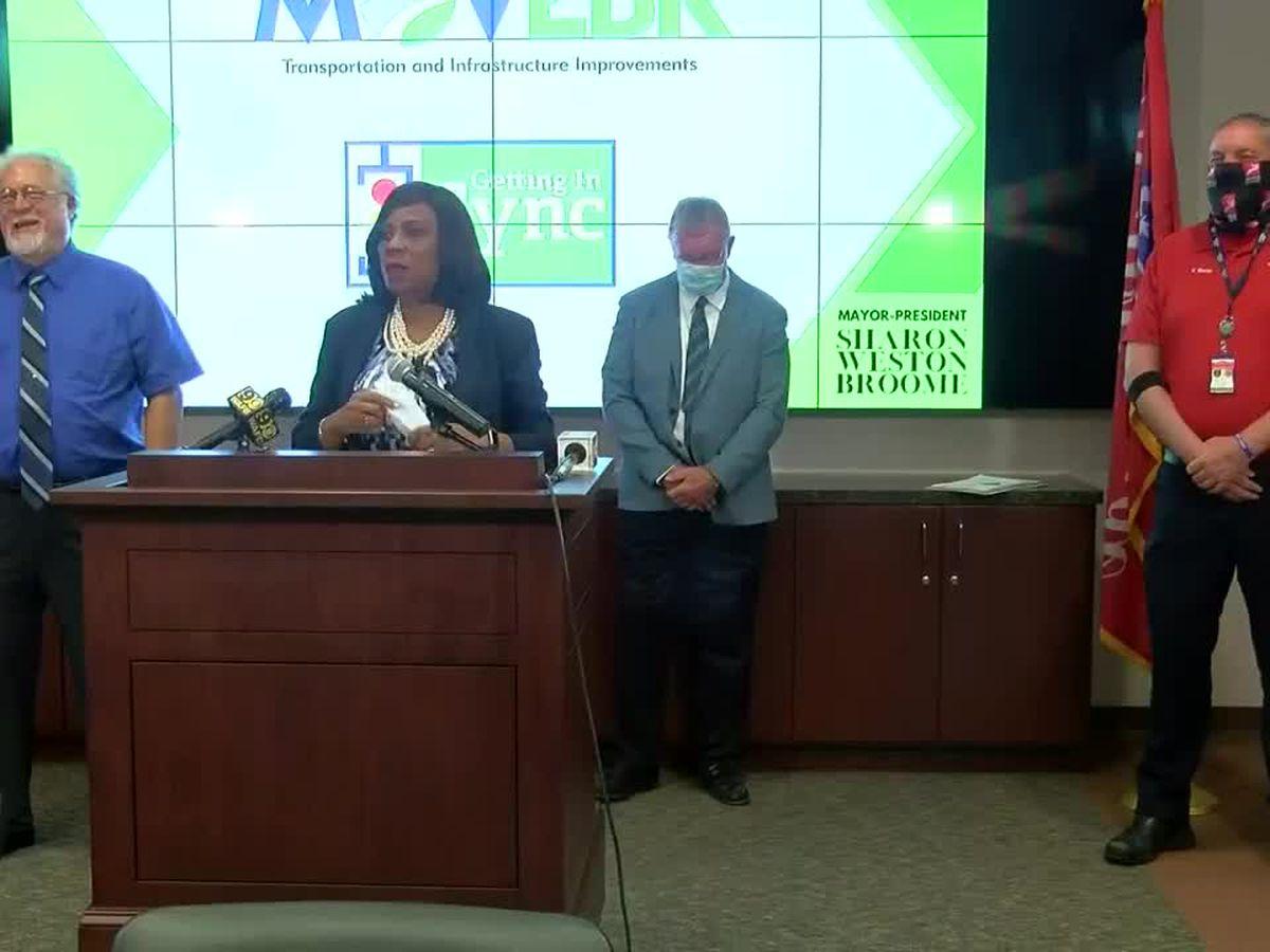 Baton Rouge announces traffic light synchronization program