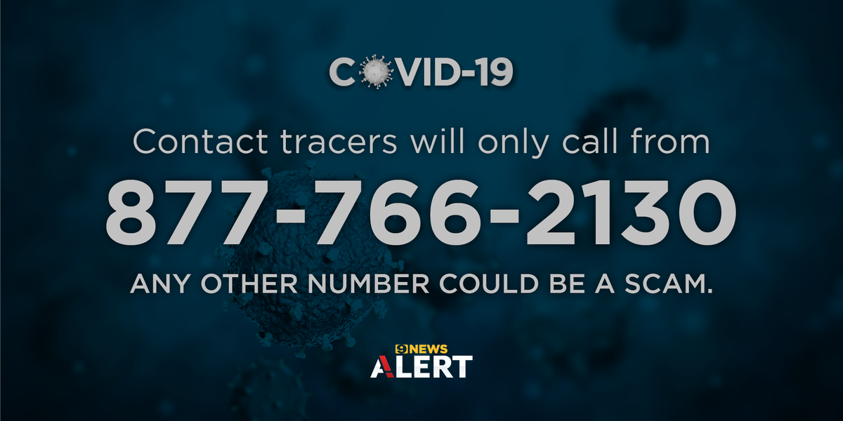 Health officials urge La. residents to answer phone calls from contact tracers