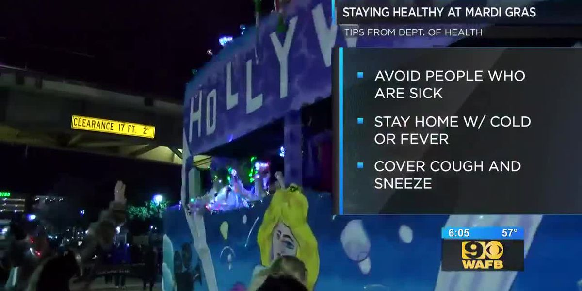 LDH offers tips to prevent the flu ahead of peak parade season