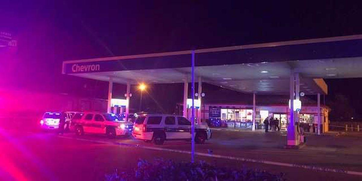 Man shot, killed after fight at gas pump; suspect fled scene