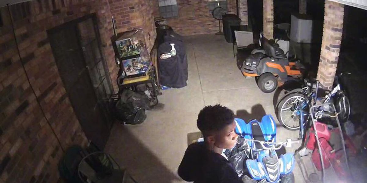 Zachary PD searching for lawnmower thief
