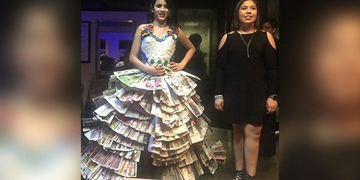 Aveda students compete for scholarships in Catwalk for Water Fashion Show