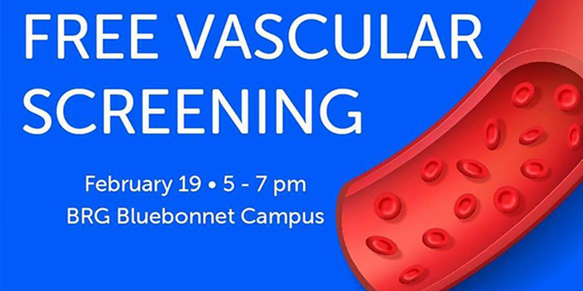 Free screening to help identify carotid artery disease