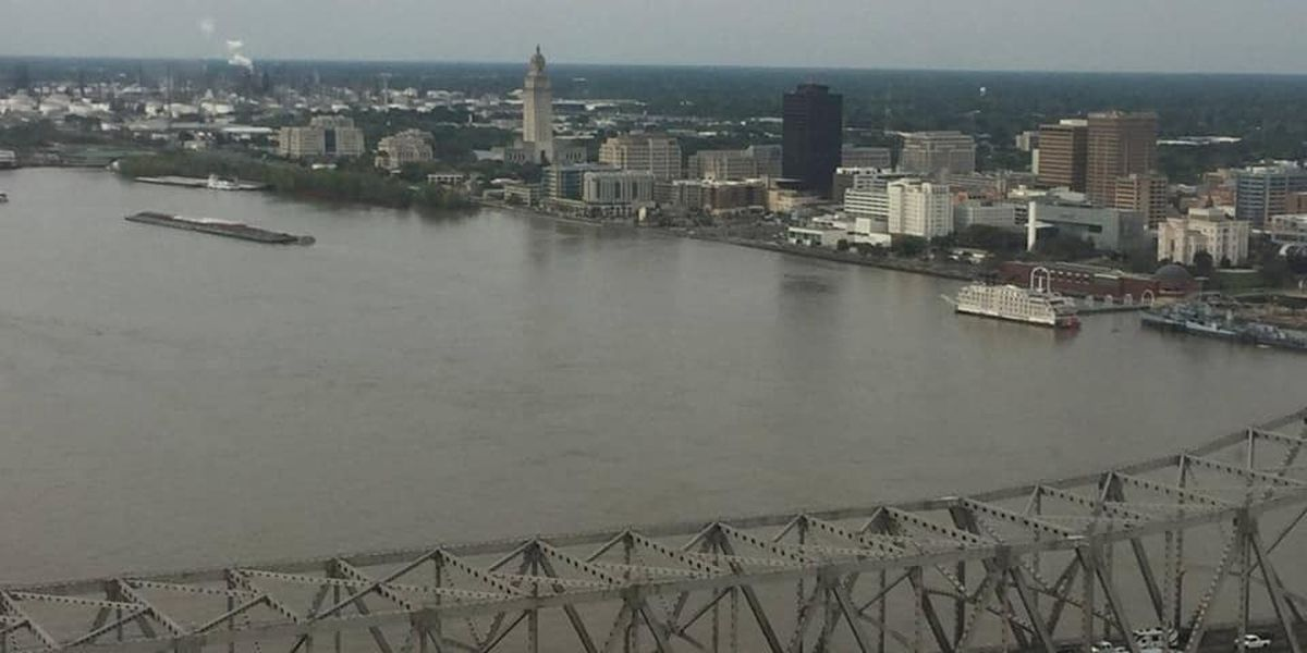 Miss. River level in Baton Rouge expected to gradually fall over next 3-4 weeks
