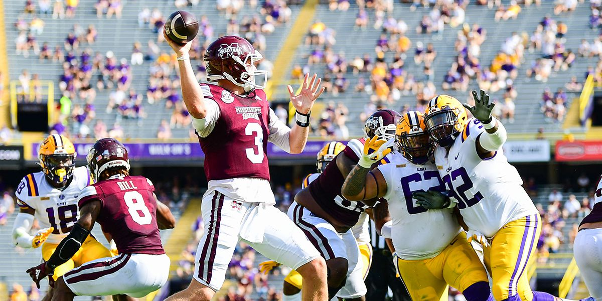 No 6 Lsu Suffers Upset Loss To Miss St In Season Opener