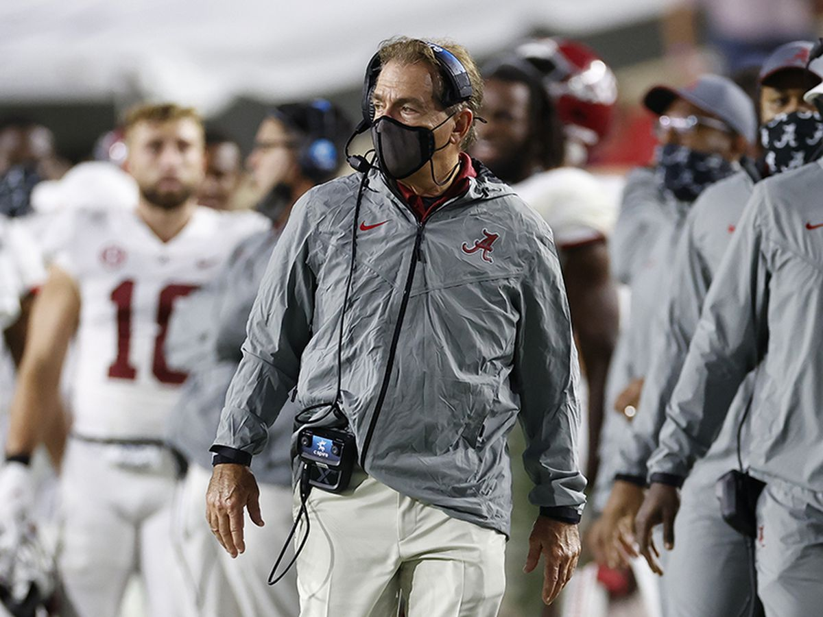 Alabama ranks No. 1 in first 2020 CFP rankings