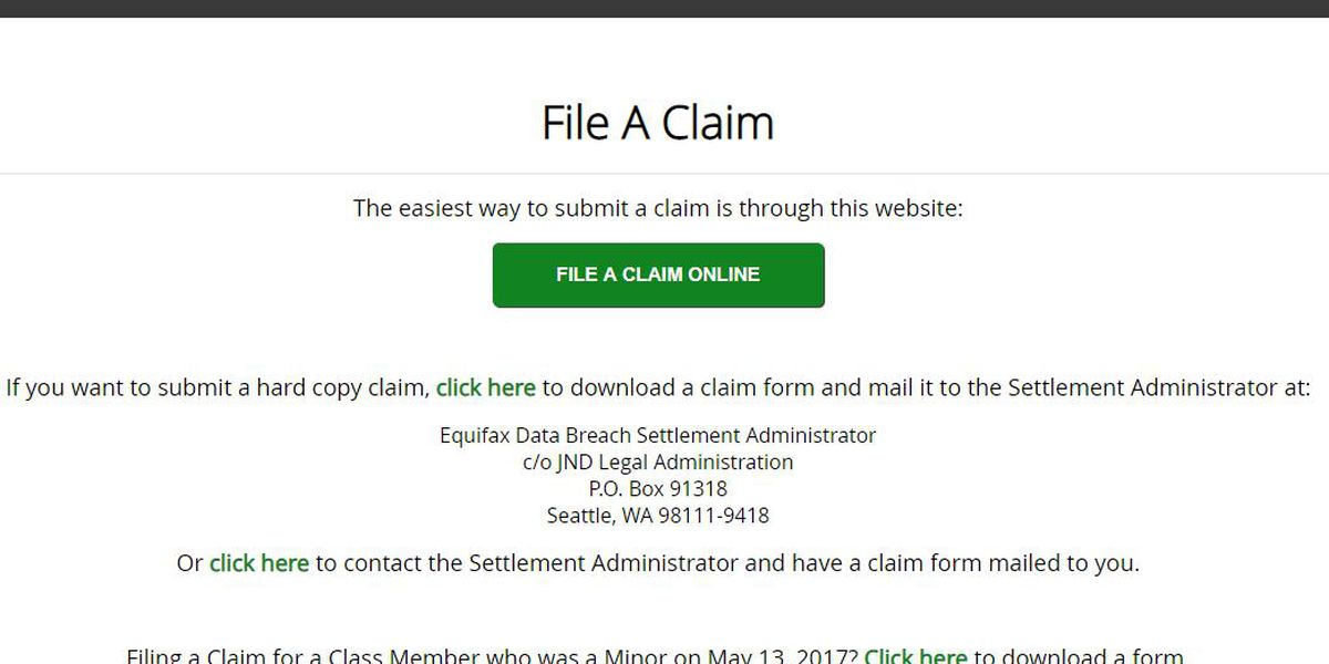 Beware of fake settlement sites for Equifax data breach