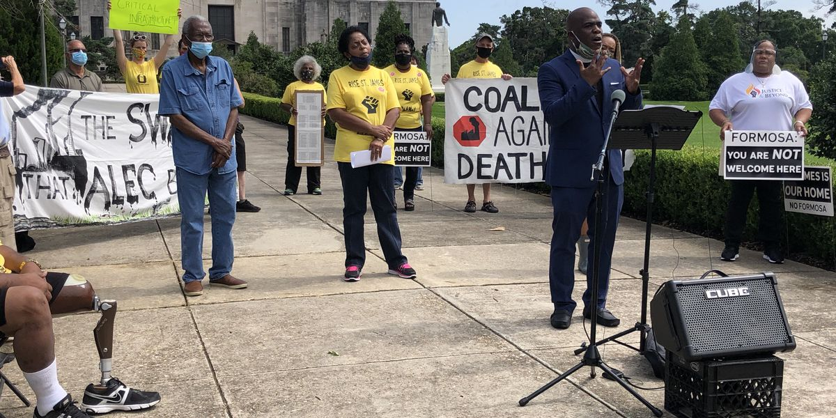 Coalition Against Death Alley calls on Gov. Edwards to veto bill labeling water control measures as critical infrastructure