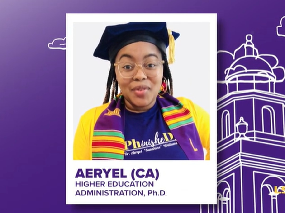 LSU holds virtual graduation ceremony