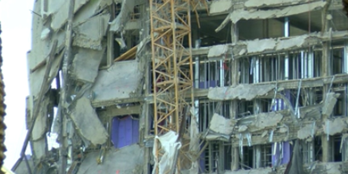Crews concerned about weather impact on Hard Rock construction site