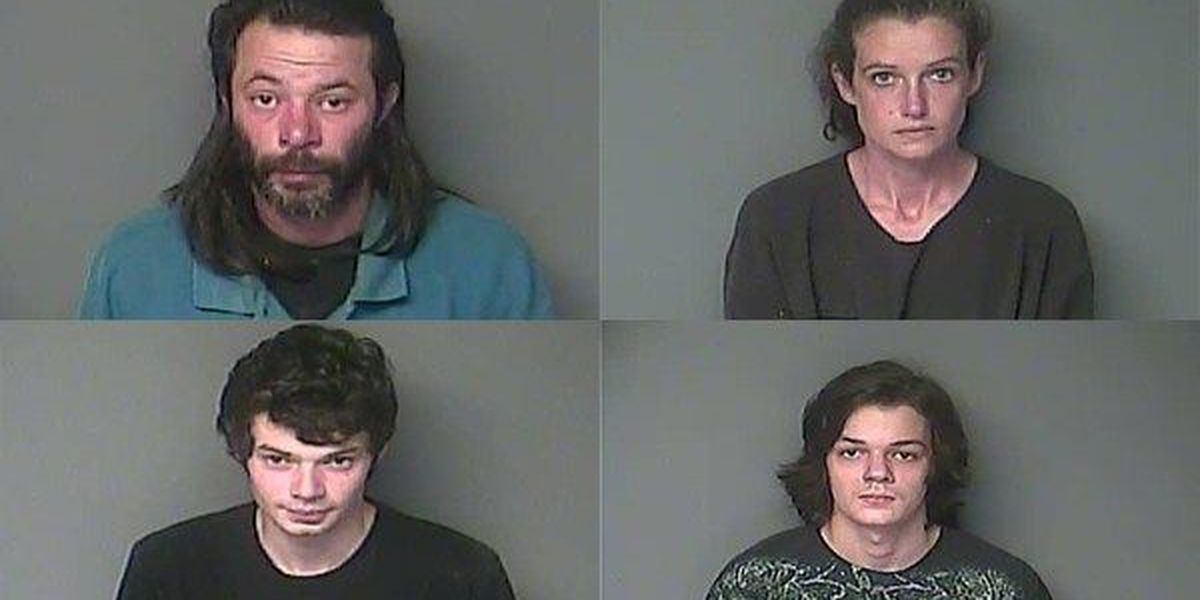 Family in Bunkie arrested for bomb making