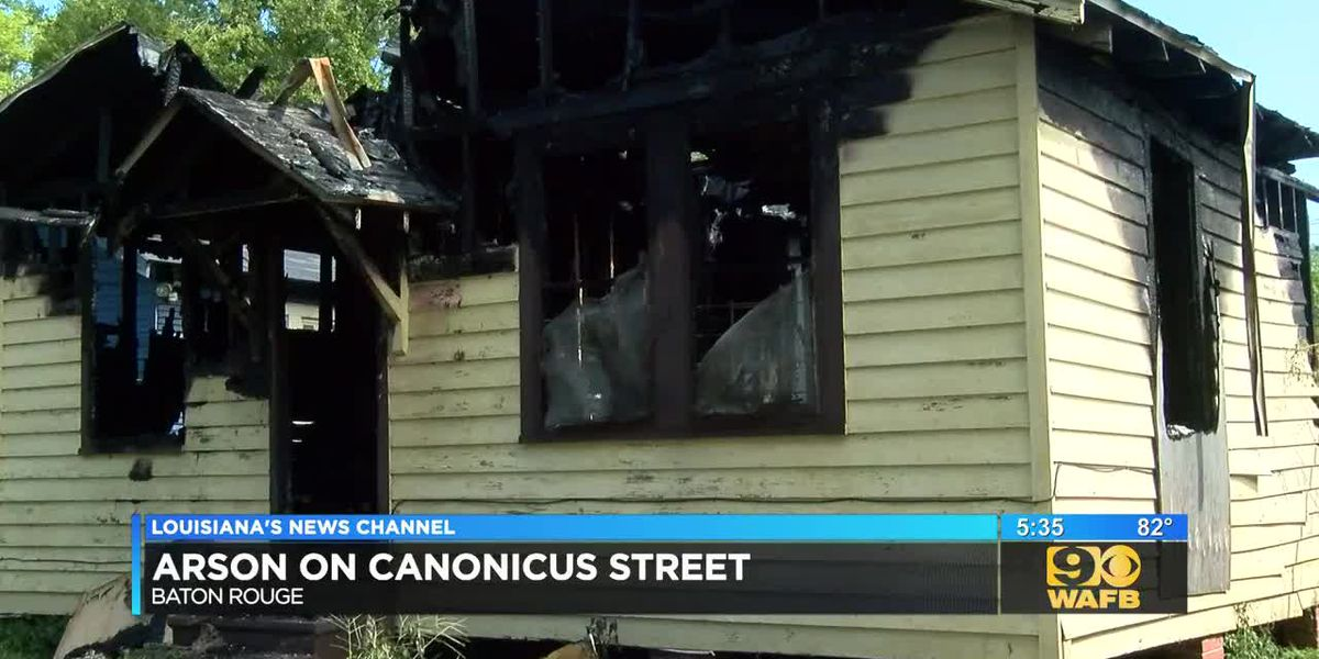 Arson investigation underway after blaze at home on Canonicus Street