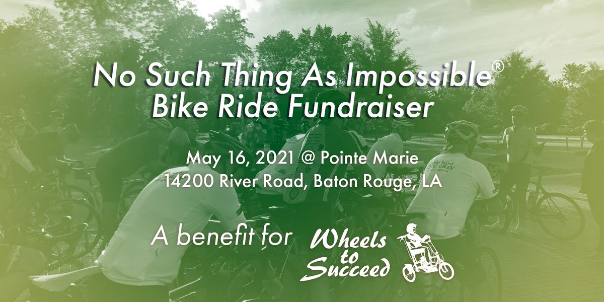'No Such Thing As Impossible Bike Ride' happening May 16