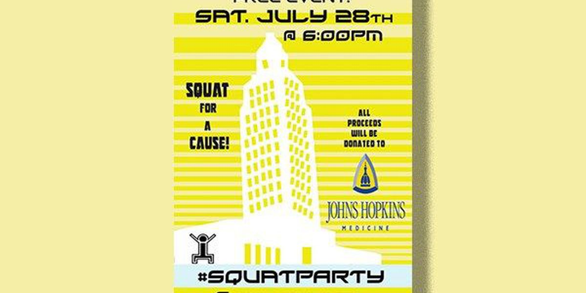 Squat for a cause; Workout fundraiser being held at Louisiana State Capitol