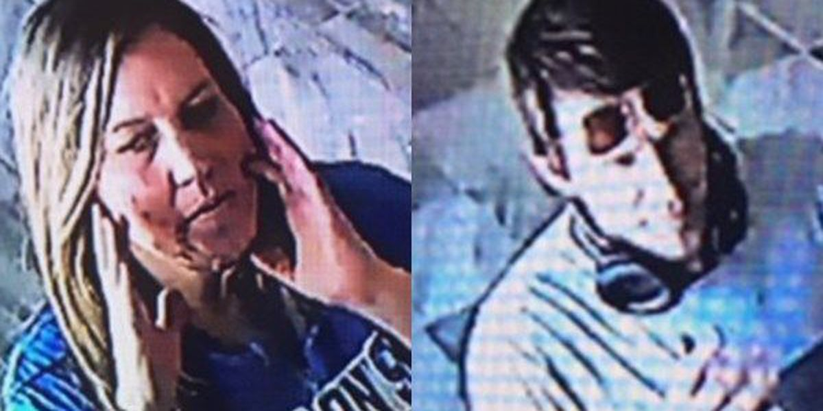 Police try to identify pair accused of using counterfeit $100 bill