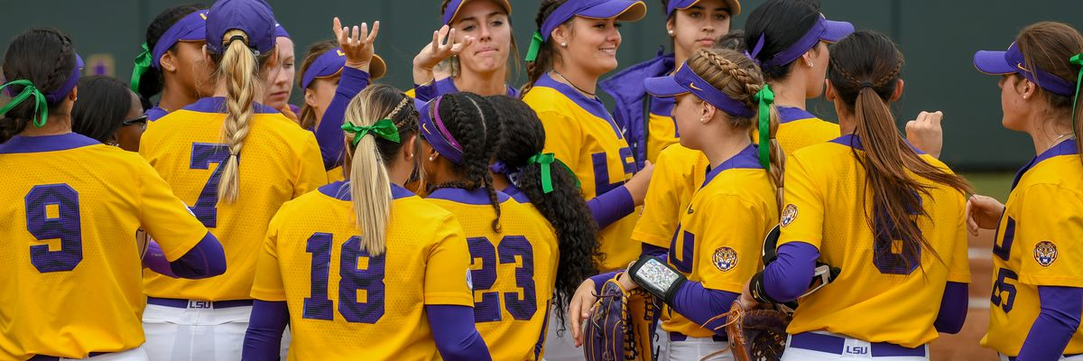 LSU softball team remains in Top 10