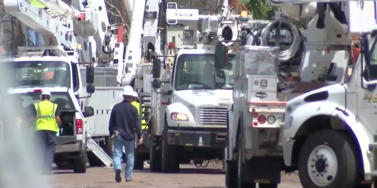 North Lake Charles set to have power by Sept. 23, according to Entergy