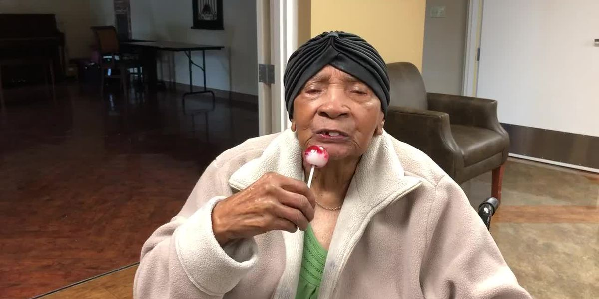 'Lollipop Lucy' turns 102