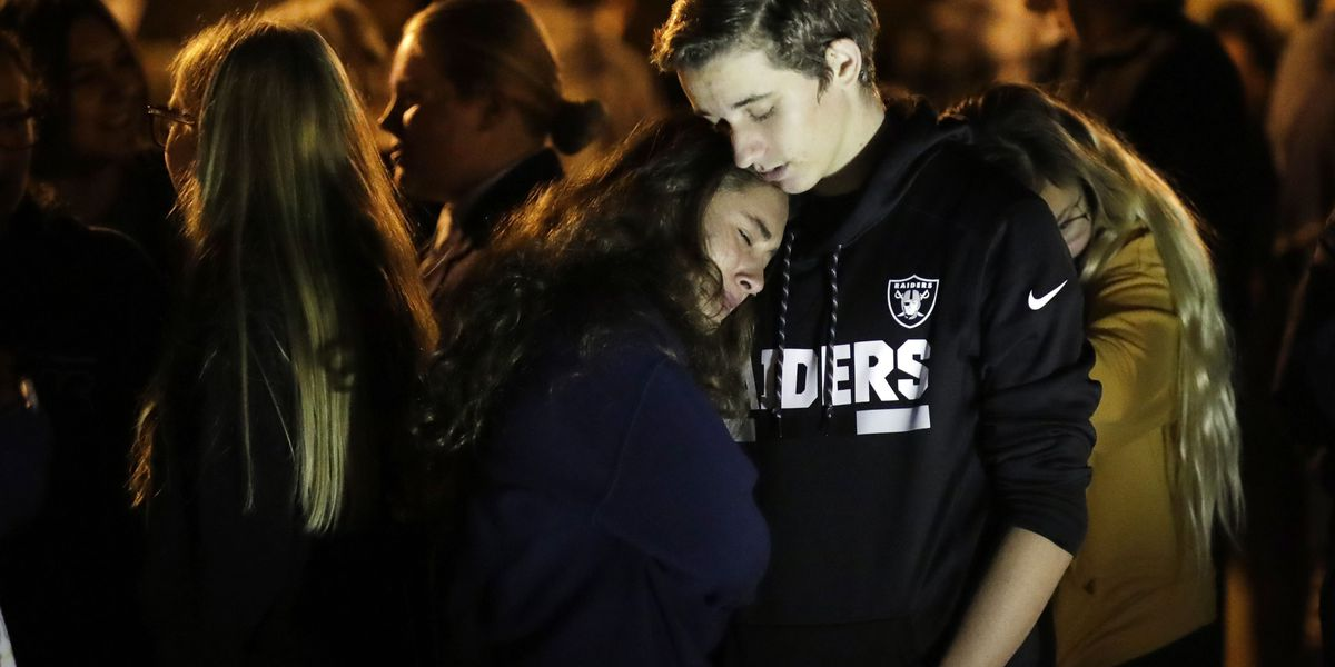 L.A. suburb mourns student victims after school shooting