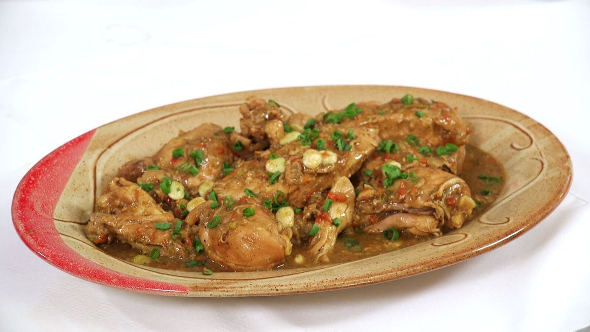 Smothered Chicken with Butter Beans