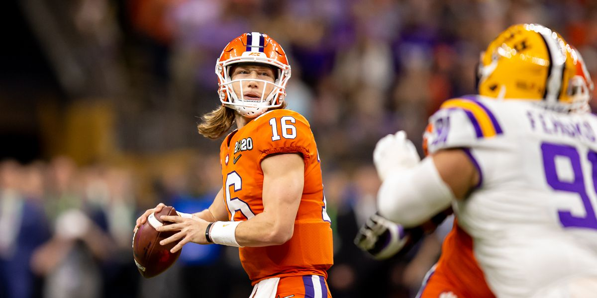 President Donald Trump offers support for Trevor Lawrence, others wanting to play