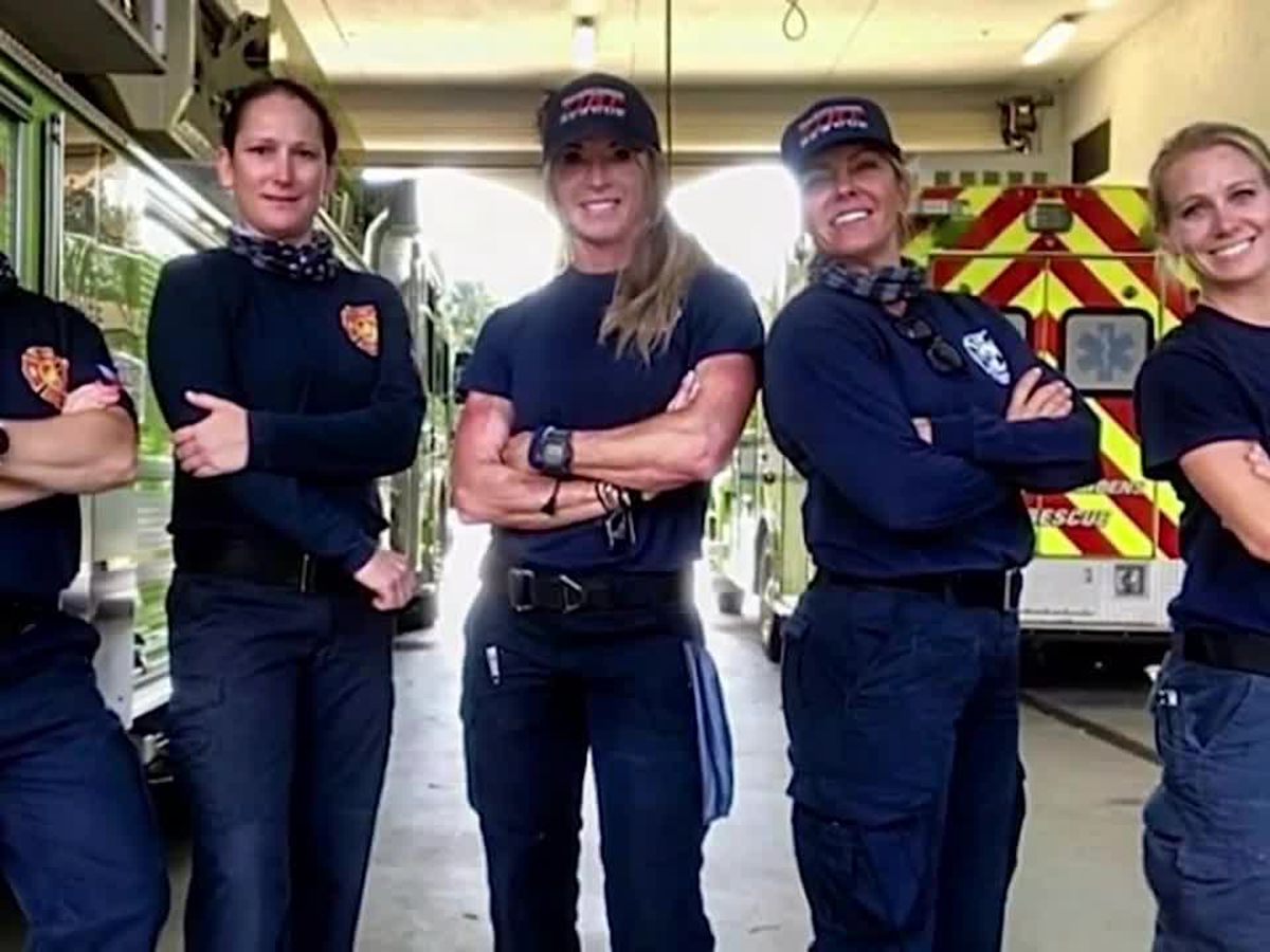 All-female fire rescue team makes history