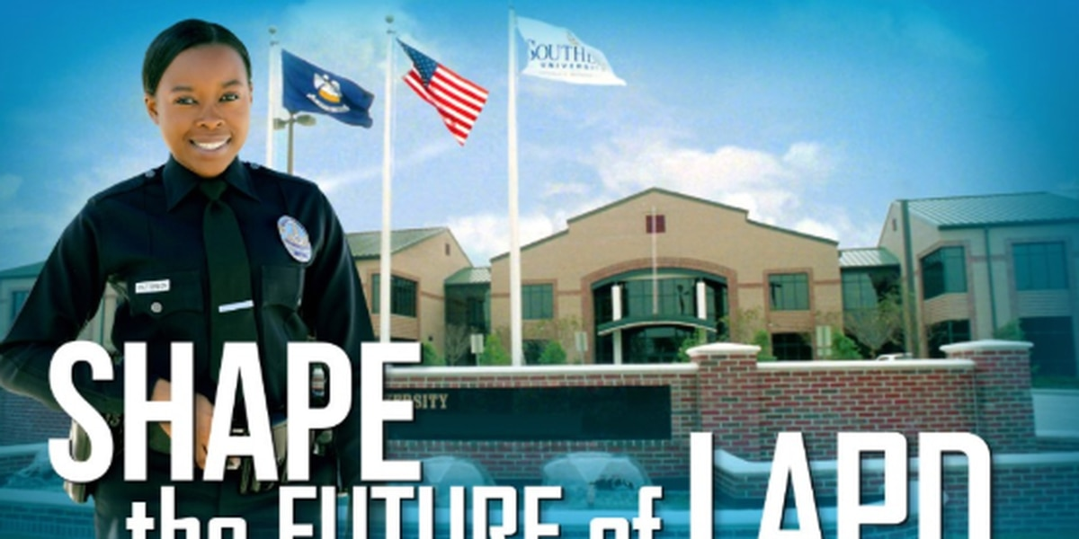 Los Angeles Police Department visiting Southern University