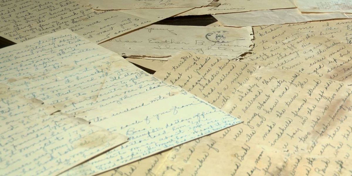 World War II letters found in woods in safe near Slaughter