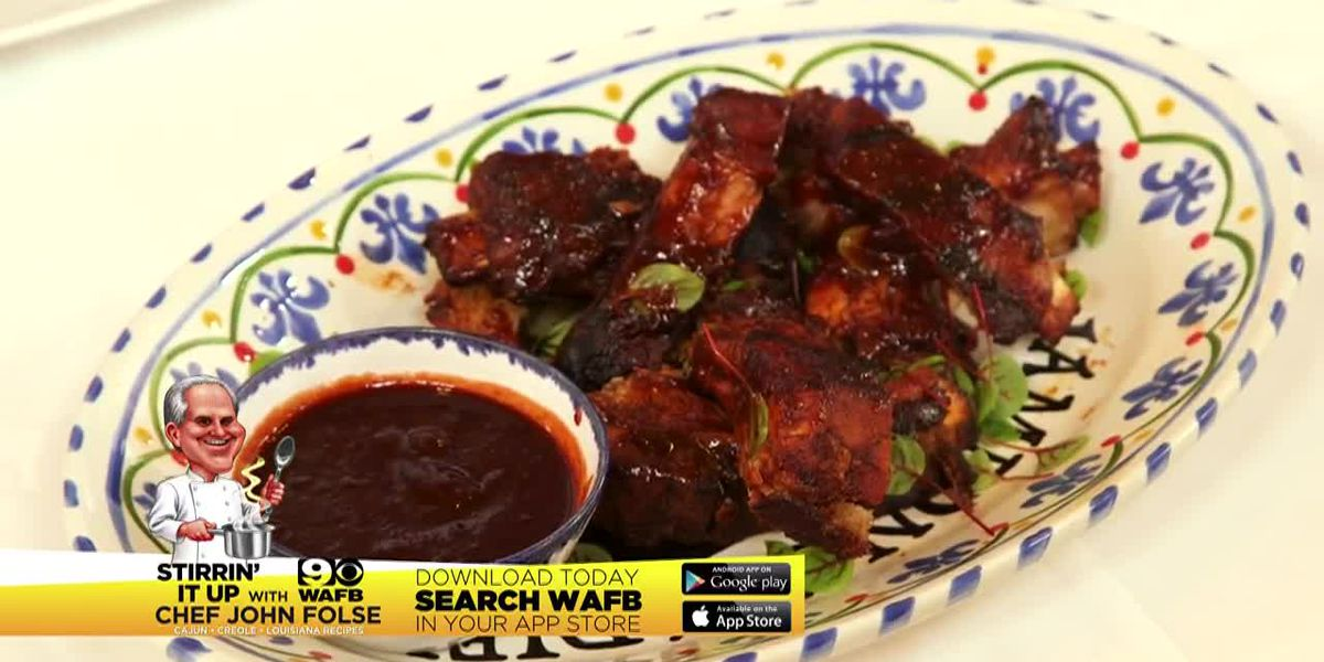 Stirrin' It Up: Baby Back Ribs with Blackberry Barbecue Sauce (June 27, 2019)